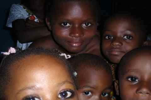 Children in Yaoundé