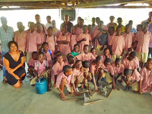 Orphanage in Bingerville, Ivory Coast