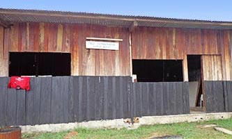 Dispensaire à Libreville, Gabon